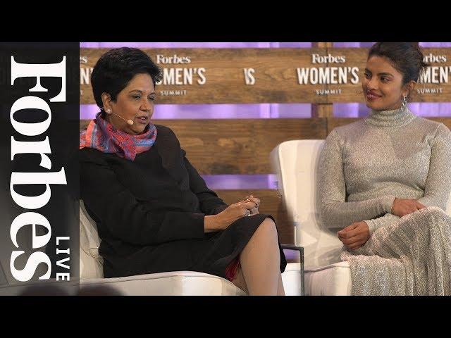 Priyanka Chopra And Indra Nooyi