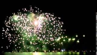 preview picture of video '20 Festa Italo Swizzera Lavena Ponte Tresa 2013 Fuochi D'artificio'