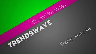 Diagonal Title Trendswave.com
