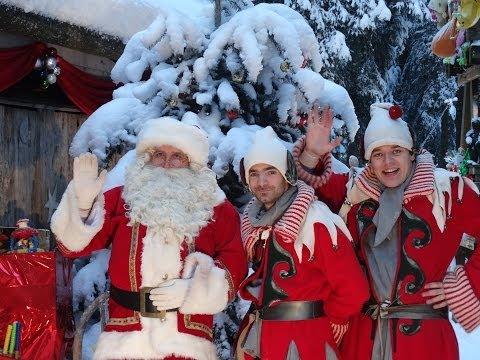 Le Père Noël habite aux Gets