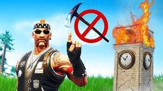 We Destroyed Tilted Towers Using Only a Heavy Sniper..