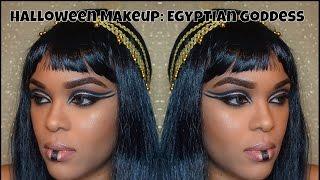 Halloween Makeup: Egyptian Goddess Makeup