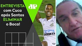 Exclusivo: Cuca diz que queria final com Palmeiras e abre o jogo após 3 a 0 contra o Boca