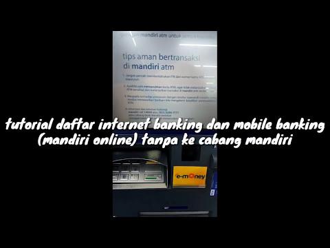 Tutorial Daftar Internet Banking Mandiri dan Mobile Banking Mandiri (Mandiri Online) Tanpa Ke Cabang