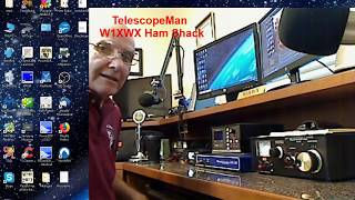 Operating a ham radio-- a lesson for beginners