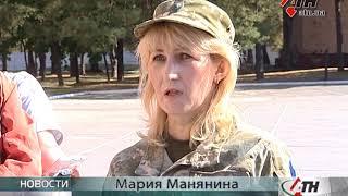 Вручение документов на землю ветеранам АТО 92 ОМБр-21.09.2017