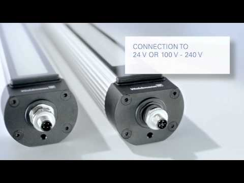 luminaire MACH LED PLUS.seventy MQAL 24 N pour machines 15W/100-240V/370mm