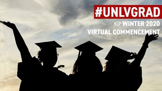 Winter 2020 Virtual Commencement