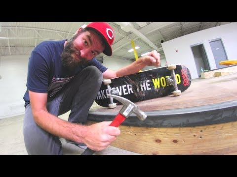 MAKE YOUR OWN SKATEPARK! / Warehouse Wednesday
