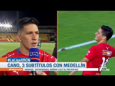 German Ezequiel Cano llega a 100 goles con Independiente Medellin