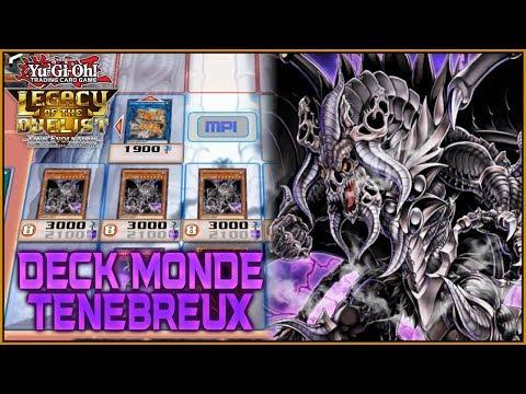 Deck Monde Ténébreux | Yu-Gi-Oh Legacy of the Duelist Link Evolution FR