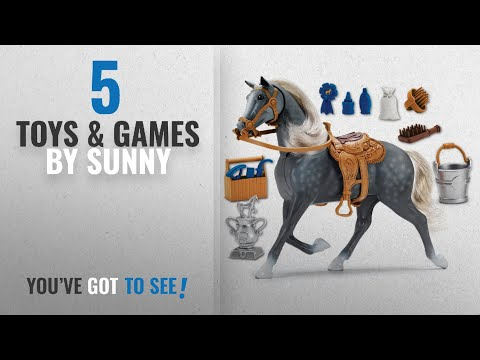 Top 10 Sunny Toys & Games [2018]: Sunny Days Entertainment Blue Ribbon Champions Deluxe Horse: