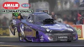 2018 NHRA Gatornationals | Funny Car Eliminations