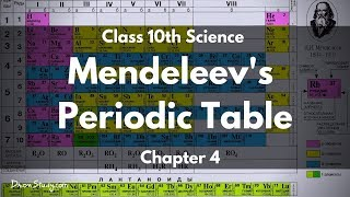Periodic classification of elements cbse class 10 x science periodic classification of elements mendeleevs periodic table cbse class 10 x science urtaz Image collections