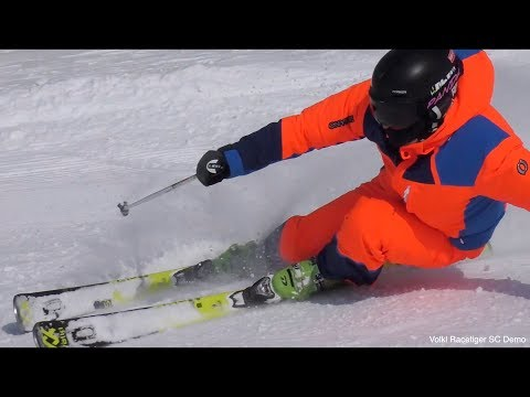 Freeskiing fun with the new SC Racetiger DEMO - Reilly McGlashan
