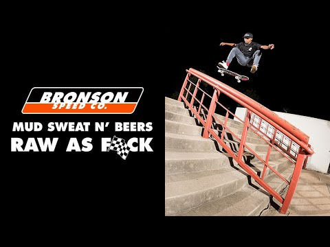 preview image for MUD SWEAT N' BEERS: RAW AF! Maurio McCoy & Winkowski's Cross Country Excursion   Bronson Speed Co.