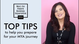 Meet the MYA Team | What are the top three tips to follow before making your first enquiry?