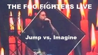 JUMP vs. IMAGINE FOO FIGHTERS LIVE IN HAMBURG 10.06.2018 -