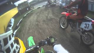 preview picture of video 'GoPro 14. Mofarennen Durmersheim GLRT 10 Fahrer Patrick E. Hauptrennen 50ccm'