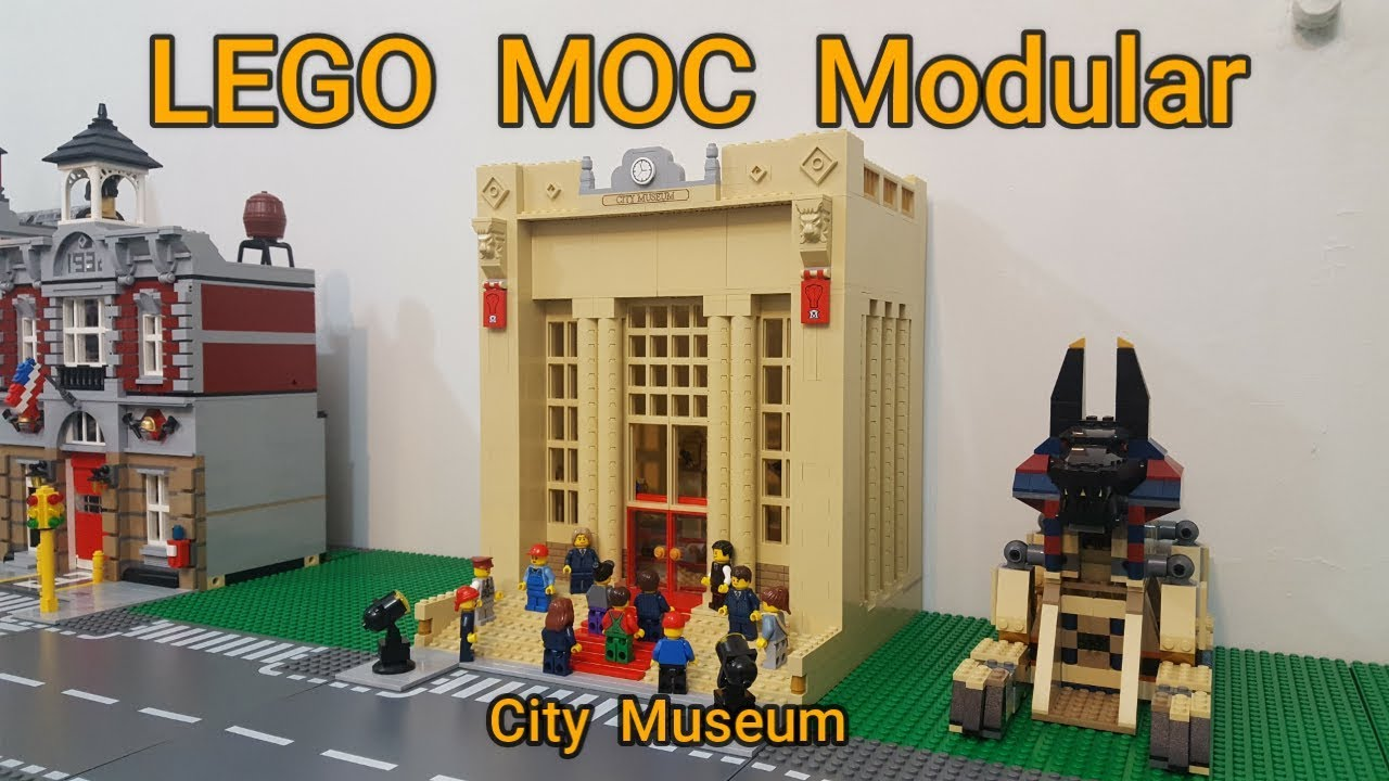 LEGO MOC Modular City Museum