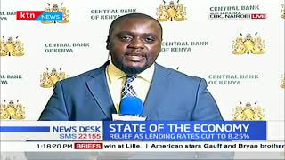 CBK governor cuts lending rate to 8.25%, says move is set to boost Kenyan economy