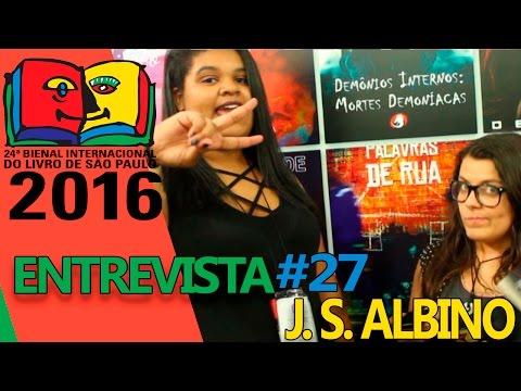 Entrevista J. S. Albino | Bienal do Livro 2016