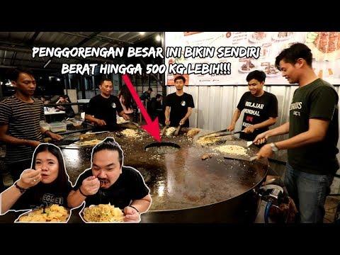 HANYA ADA 1 DI INDONESIA!!! PENGGORENGAN SUPER BESAR UNTUK MASAK NASI GORENG! | Ft. ELISABETH WANG