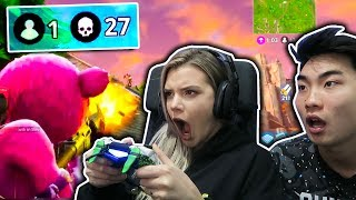 ALISSA VIOLET PLAYS FORTNITE w/ RICEGUM