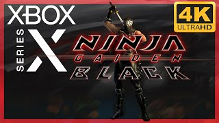 [4K] Ninja Gaiden Black / Xbox Series X Gameplay