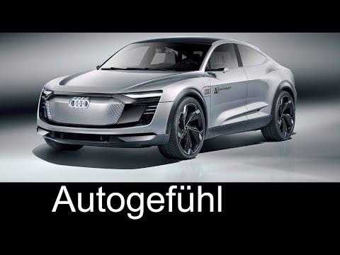 Audi Elaine Concept Exterior/Interior Preview – IAA 2017 – Autogefühl