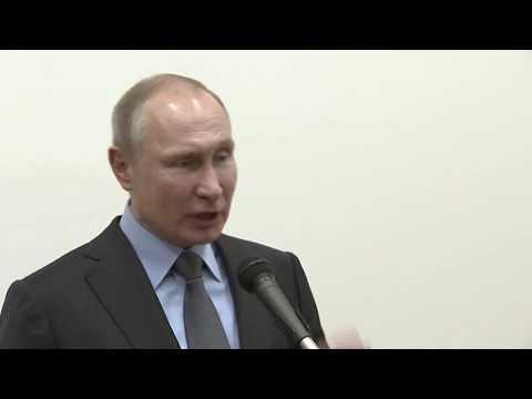 Волгодонские сварщики разговаривают с Путиным