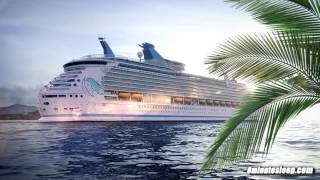 CRUISE SHIP WHITE NOISE | Sleep like you're on vacation in a tropical paradise | 10 Hours