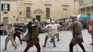 preview picture of video 'Medieval Mdina May 2014'