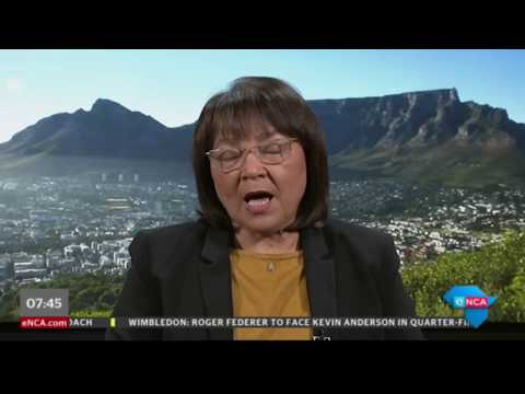 Patricia de Lille on the push for people to drink less fizzy drinks
