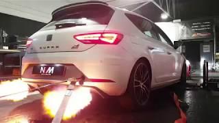 *FLAMING* Seat Leon Cupra 400 NVM Stage 2+