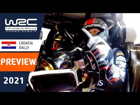 WRC 2021 第3戦ラリー・クロアチア ラリー直前のプレビュー動画