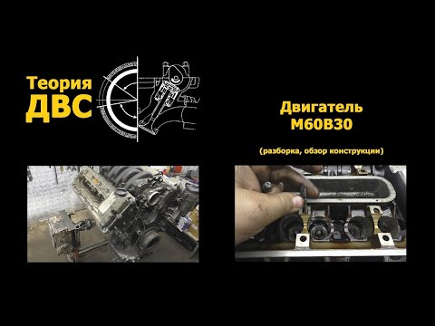 Фото к видео: BMW Секреты баварской легенды: Двигатель M60B30 (разборка, обзор конструкции)