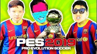 TEAM ĐỤT ĐÁ PES 2019 !!! BÓNG ĐÁ CHƯA BAO GIỜ CỤC SÚC ĐẾN THẾ =)))