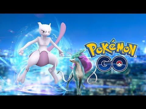Mewtwo v Boskovicích a první raid Suicuna (Pokémon Go #1)
