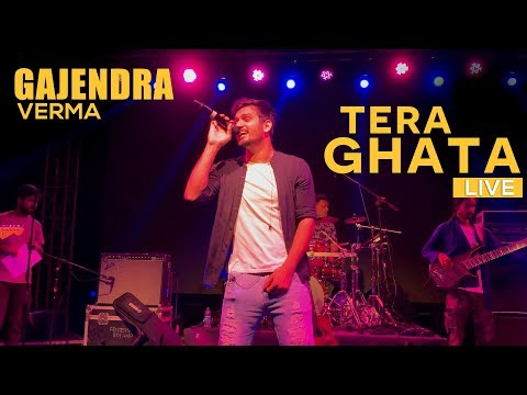 GAJENDRA VERMA | TERA GHATA LIVE PERFORMANCE | BANGALORE