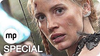 THE HUNTSMAN AND THE ICE QUEEN Trailer & Film Clips German Deutsch (2016)