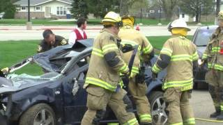 ZHS Simulated OWI Accident (Prom Season)