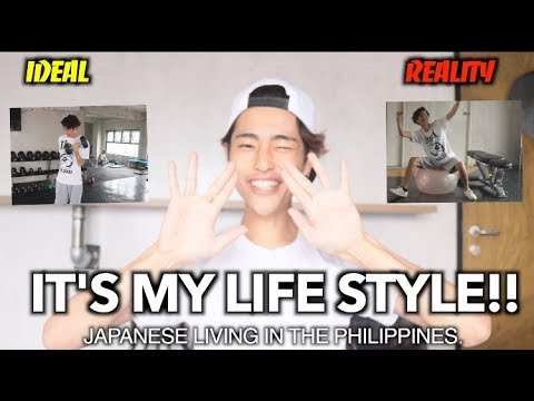 JAPANESE LIVING  IN THE PHILIPPINES! IDEAL&REAL