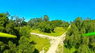 Little FPV exploring with the DJI air unit