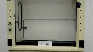 4′ Fisher Hamilton Safeaire Fume Hood for Sale with Epoxy Top and More