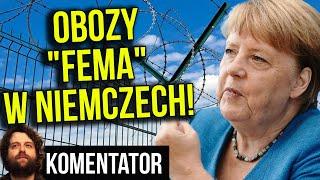 """""""Obozy FEMA"""" w Niemczech dla Opornych! Słowacja: Bez Testu Nie Wyjdziesz z Domu Analiza Komentator"""