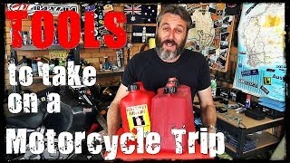 preview picture of video 'Tools to take on a Motorcycle Trip'