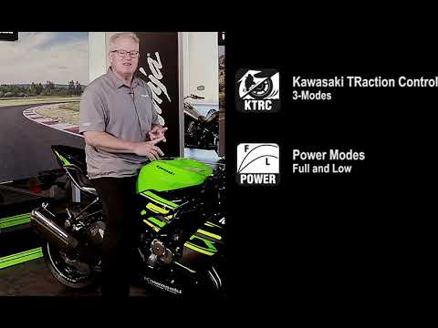 2019 Kawasaki NINJA ZX-6R in Zephyrhills, Florida - Video 4