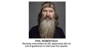 Phil Robertson (Duck Dynasty) - A Dose of Buckley