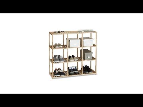 Holzregal für Küche und Bad